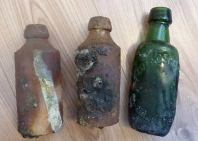Bottles from a Destructor