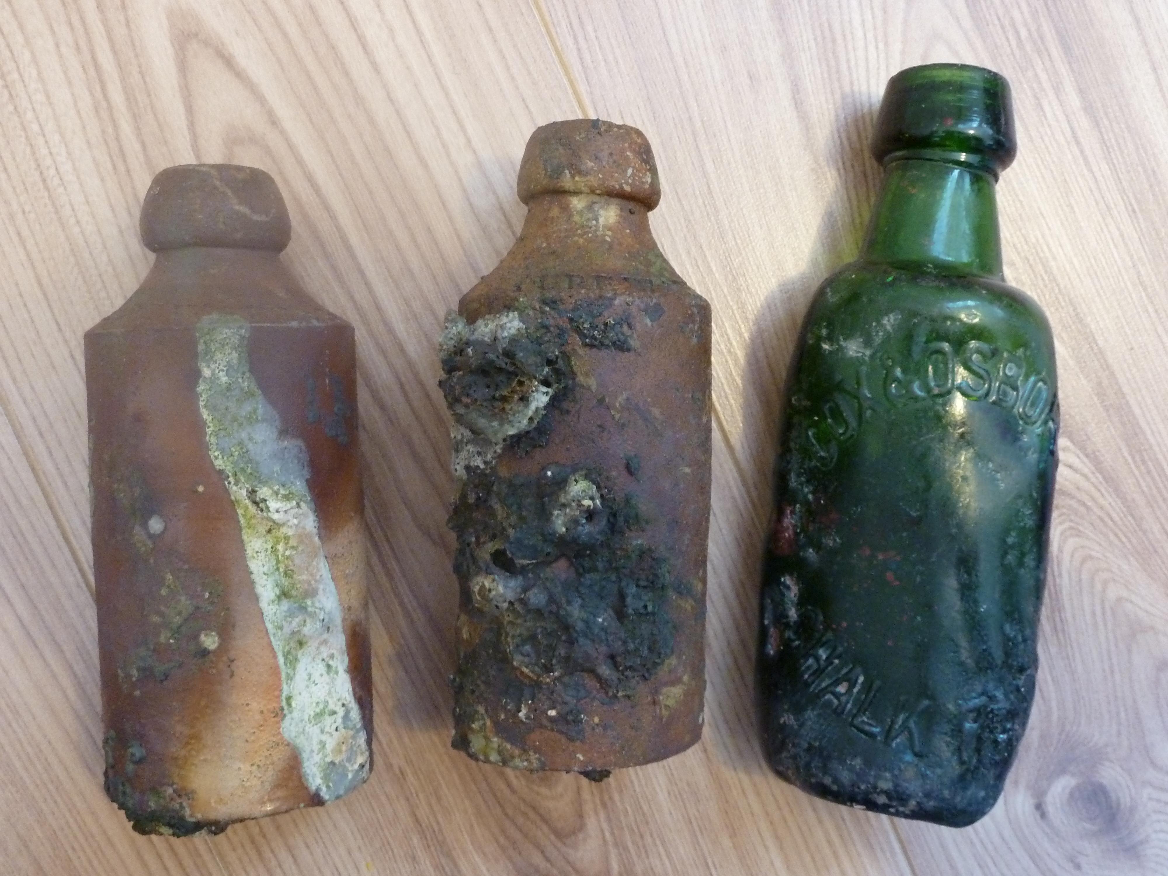 Bottles from a Destructor