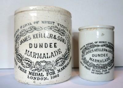 Keiller Dundee Marmalade Pots