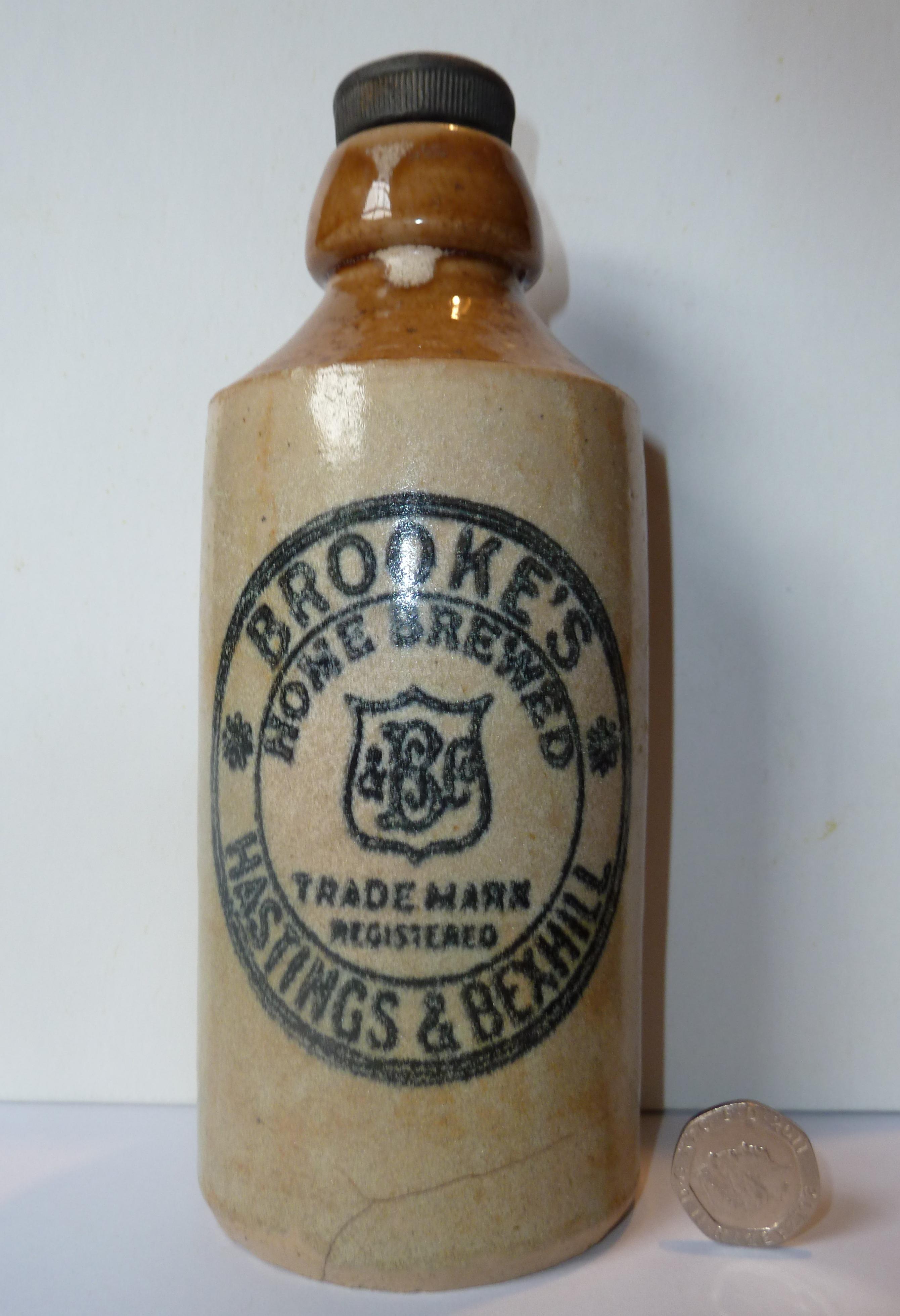 Ginger Beer Bottle