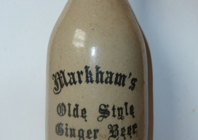 Late Ginger Beer Bottle