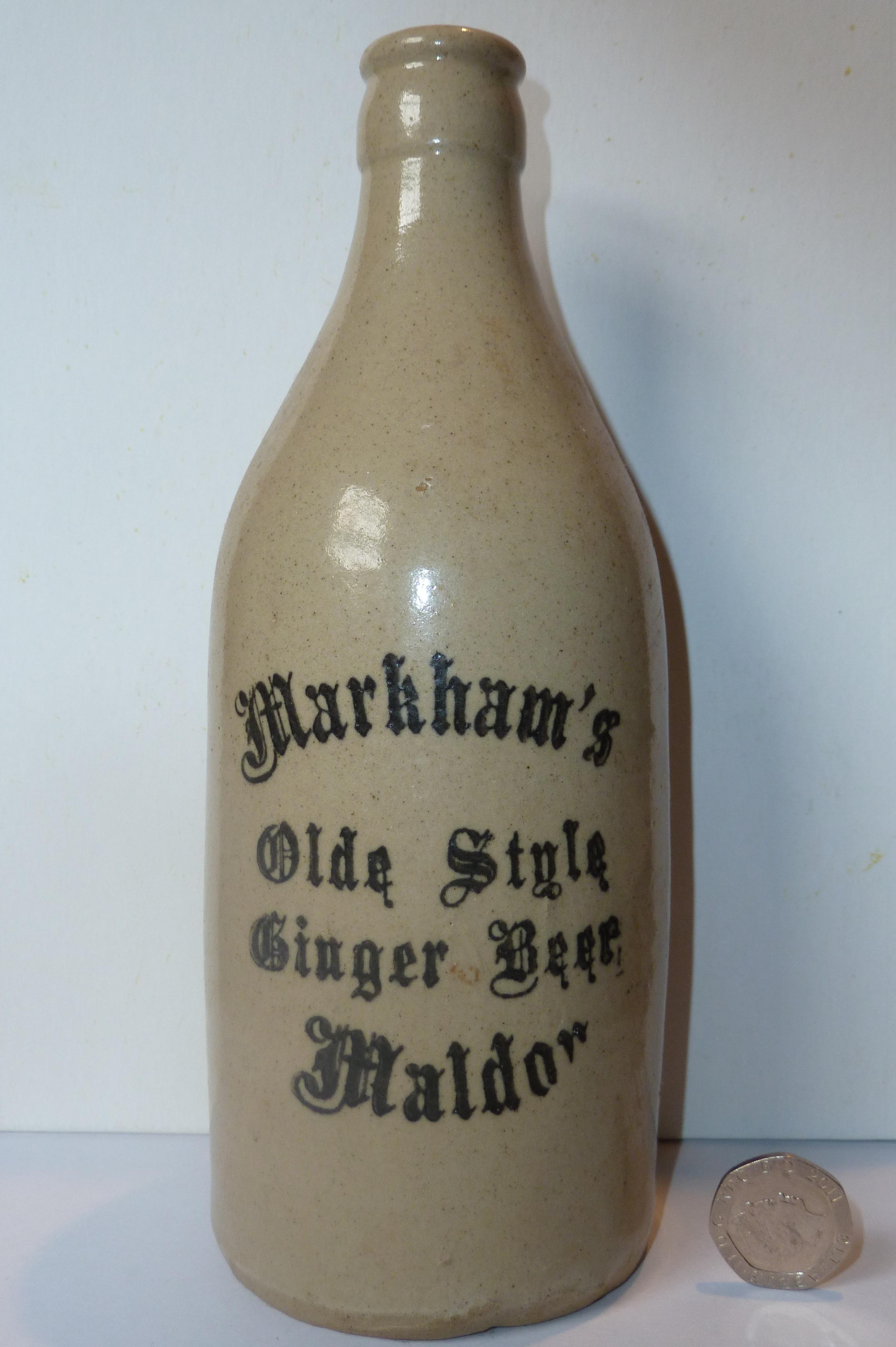 Late Ginger Beer Bottle