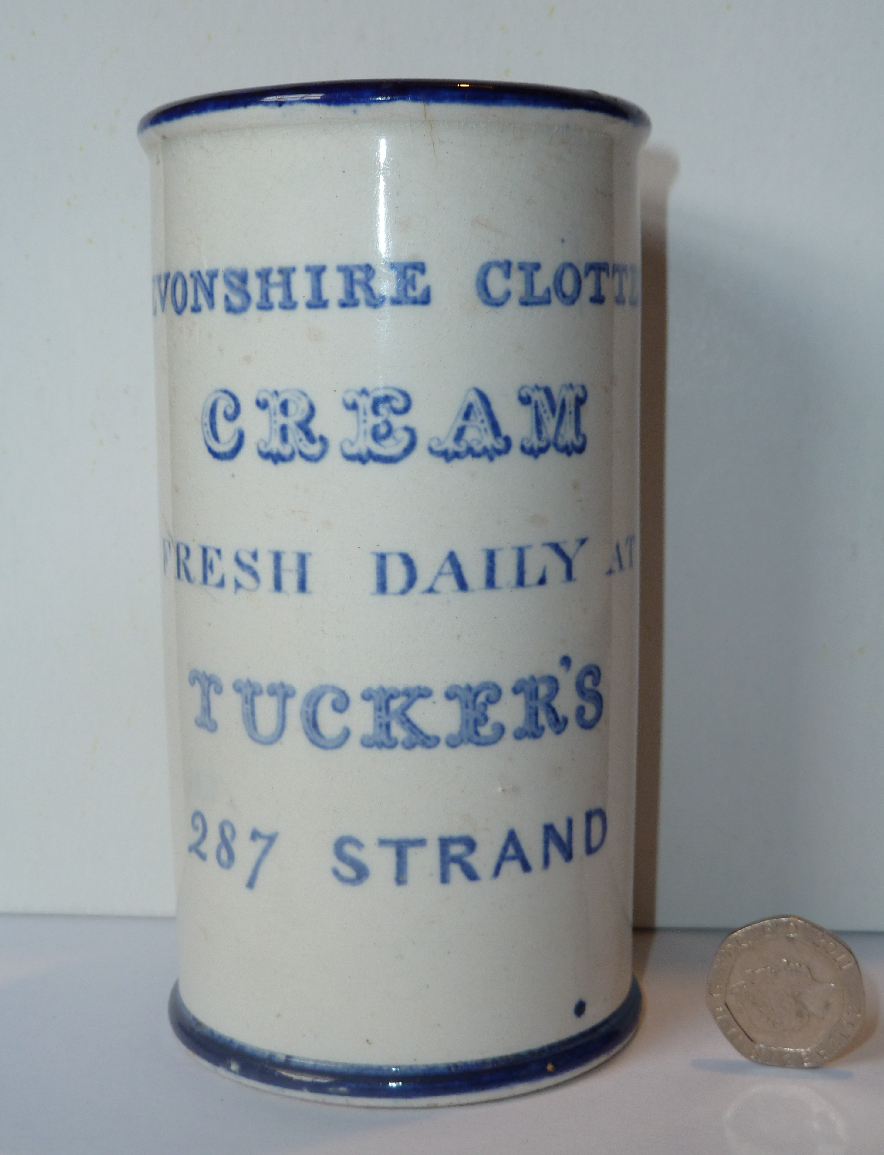 Clotted Cream Pot