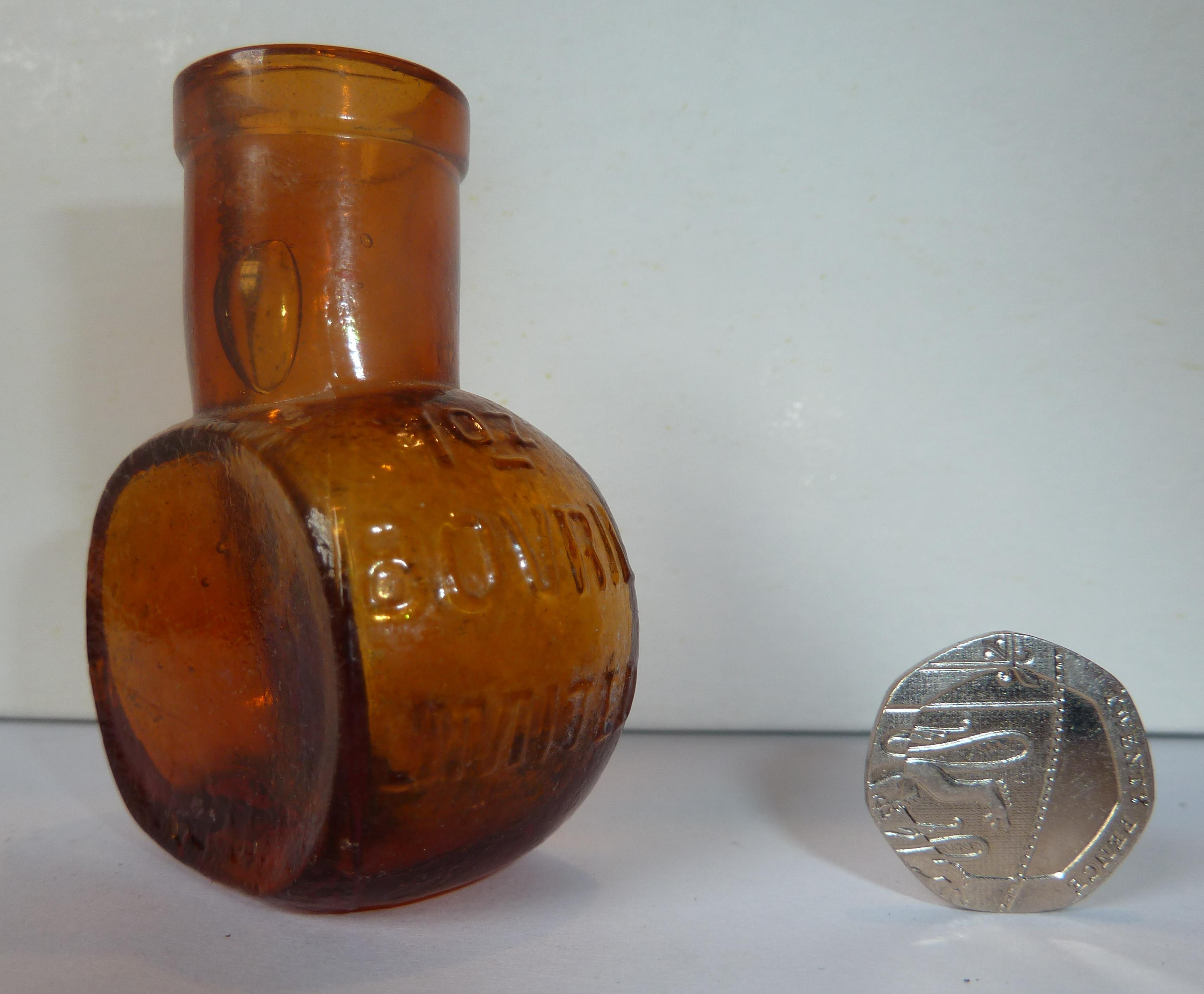 Bovril Bottle