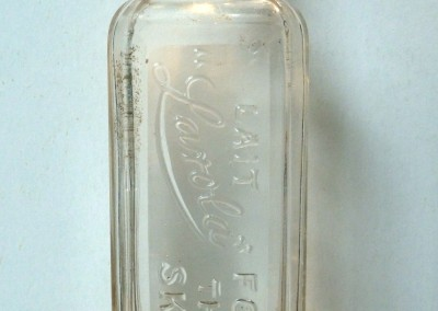 'Lait Larola' Bottle