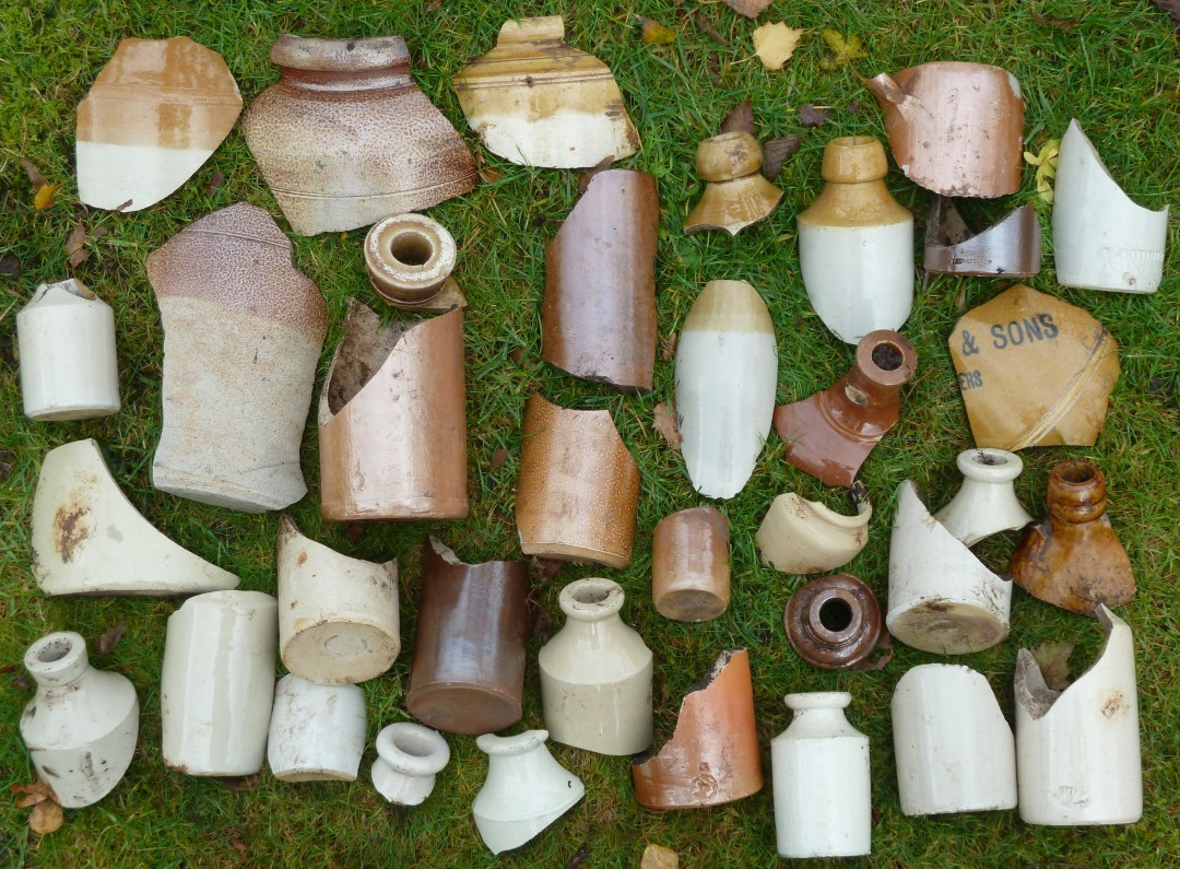 Stoneware Bottles and Jars