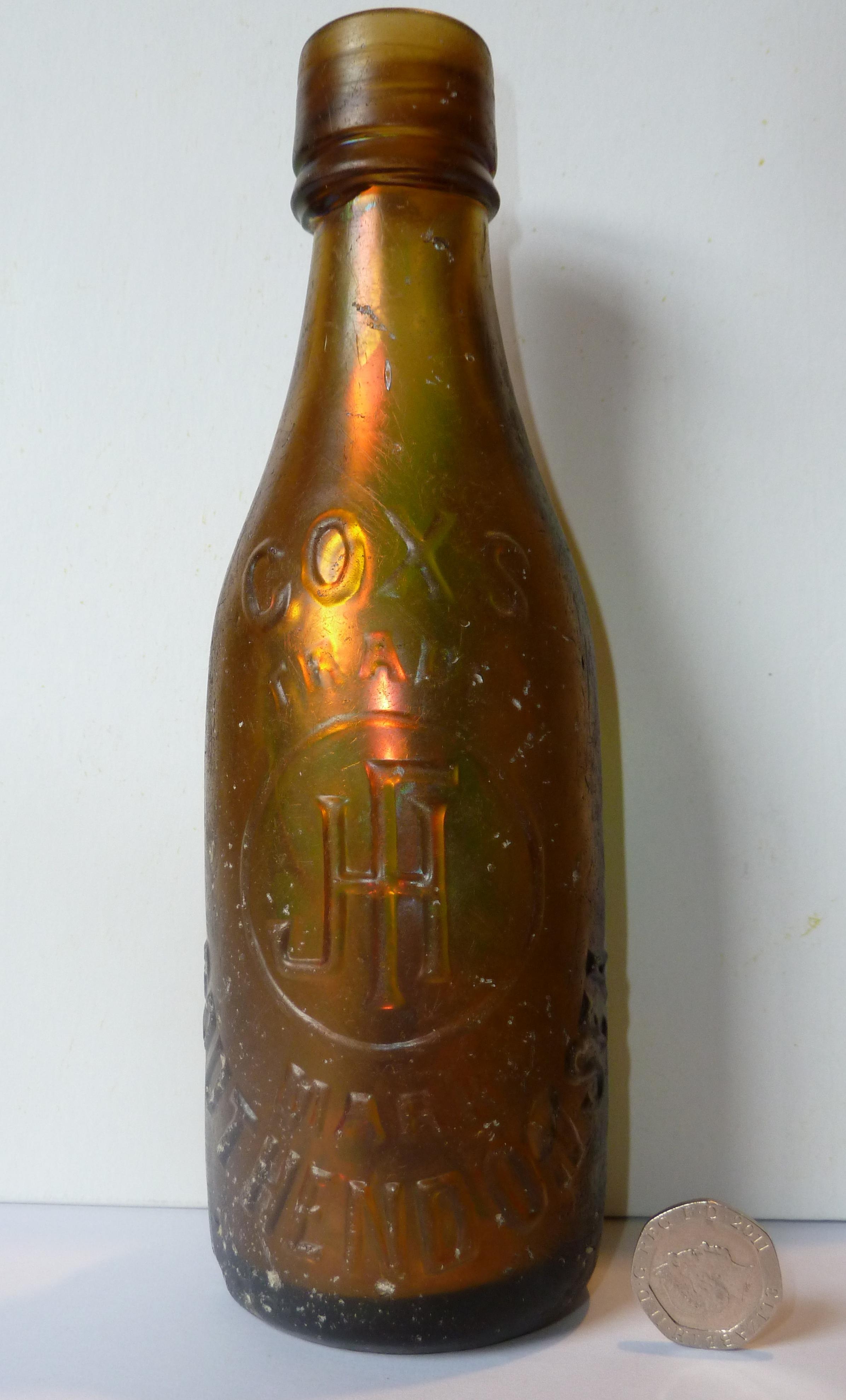 Cox's Beer Bottle 1