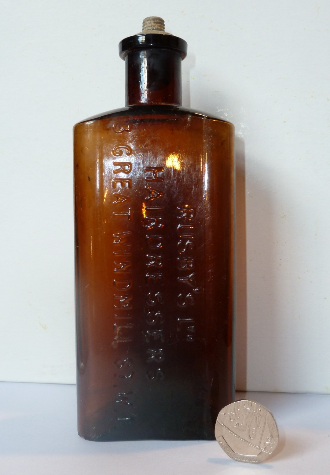 Hair Tonic Bottle