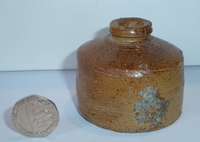 Stoneware Ink Bottle