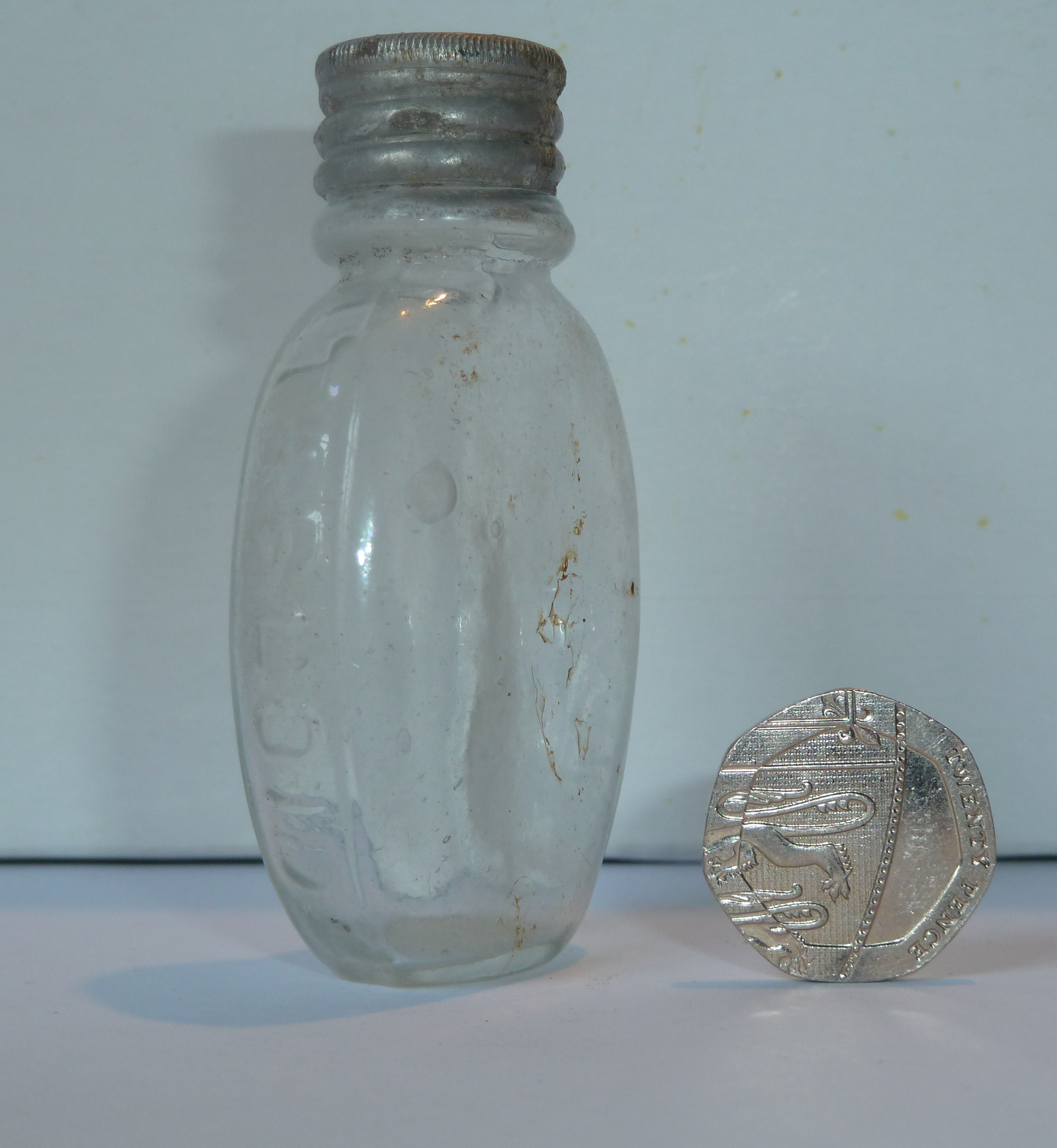 Burroughs Wellcome Pills Bottle