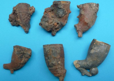 Burnt Clay Pipes