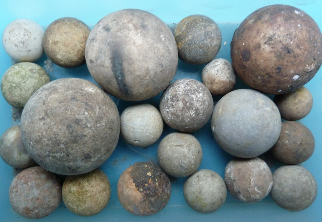 Baked Clay Marbles