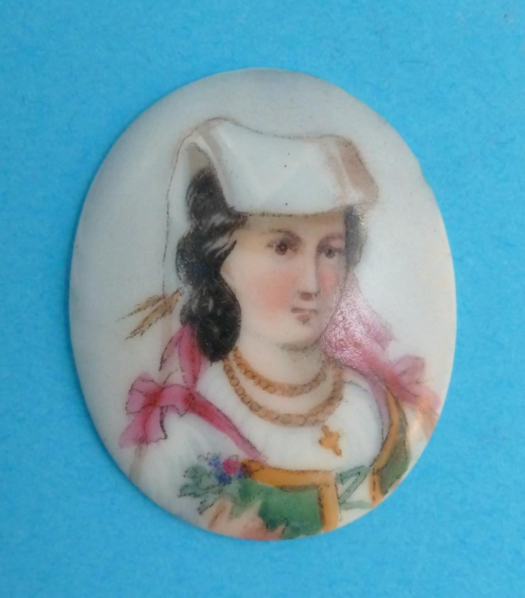 Miniature Portrait on Ceramic