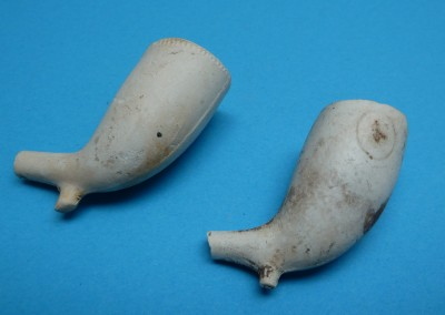 Plain Clay Pipes