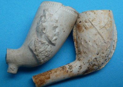 Prince of Wales Clay Pipe