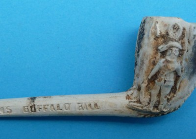 Buffalo Bill Clay Pipe