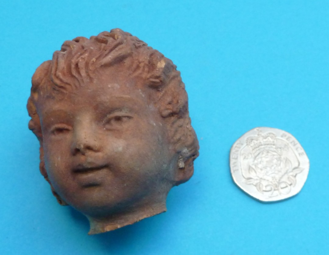Head of a Statuette