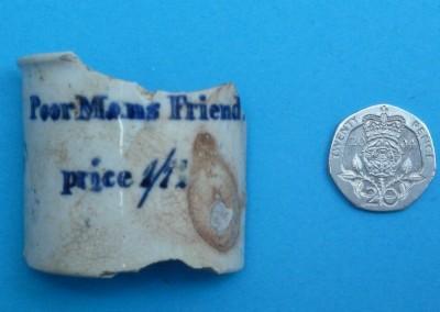 'Poor Man's Friend' Ointment Pot