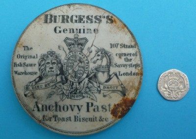 Anchovy Paste Pot Lid