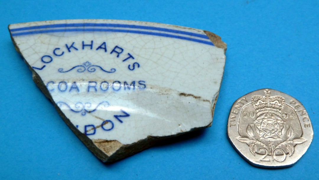 Lockhart's Cocoa Rooms Plate