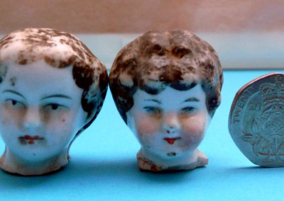 Painted Dolls' Heads