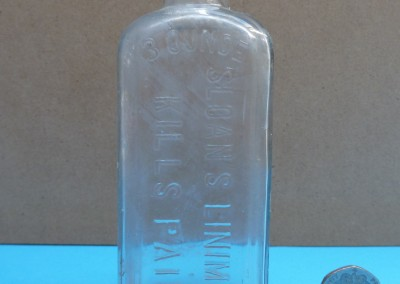 Sloan's Liniment Bottle