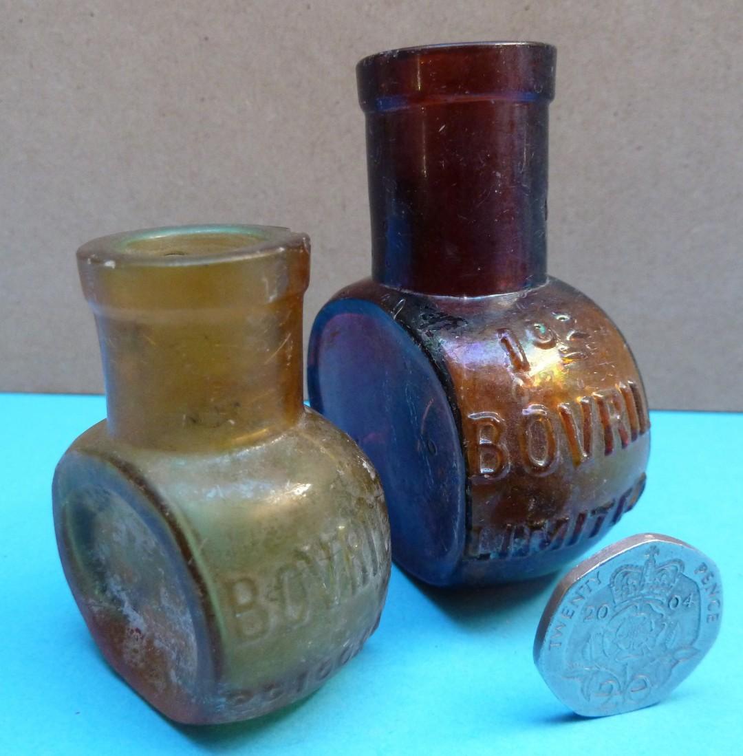 Bovril Bottles