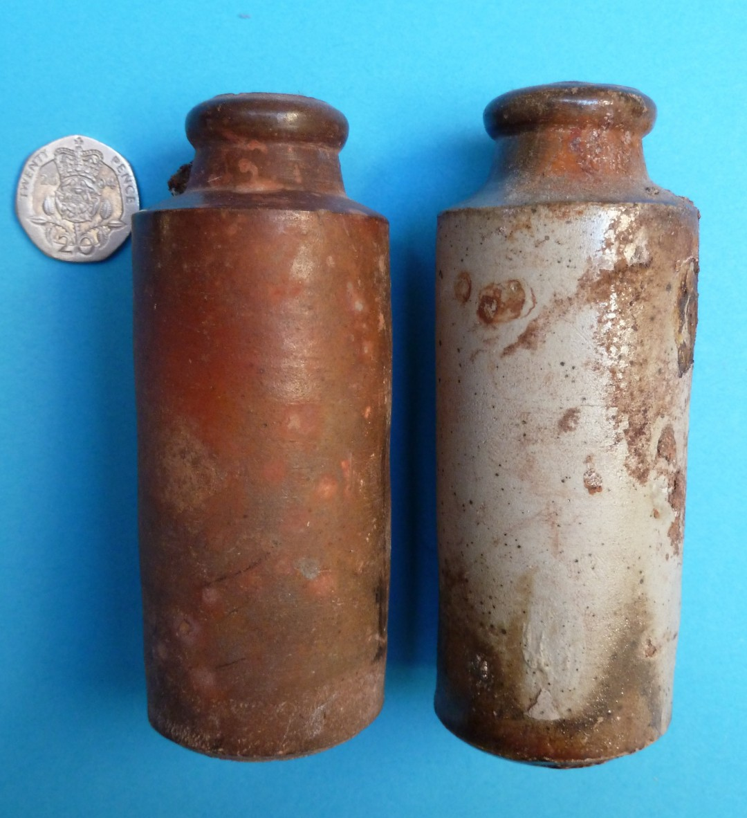 Ink Bottles from a Destructor