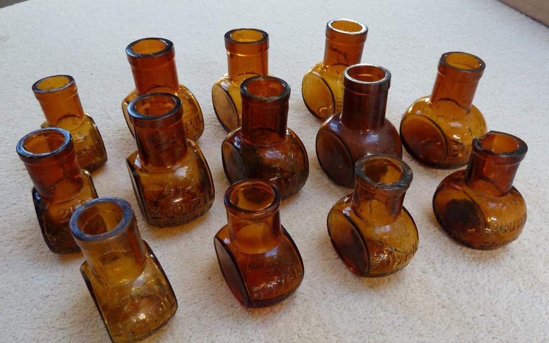 Bovril Bottles from 1908