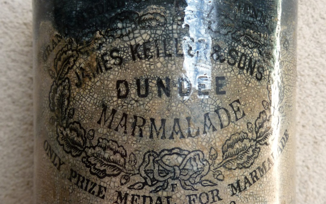 Marmalade Jar, Re-used for Paint