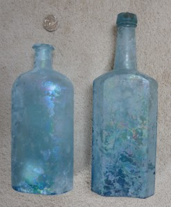 Bottles by the York Glass Company