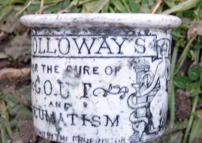 Holloway's Ointment Pot