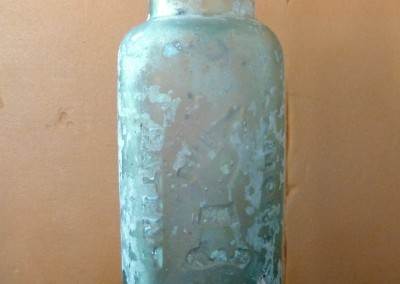 Lamont's Patent Mineral Water Bottle