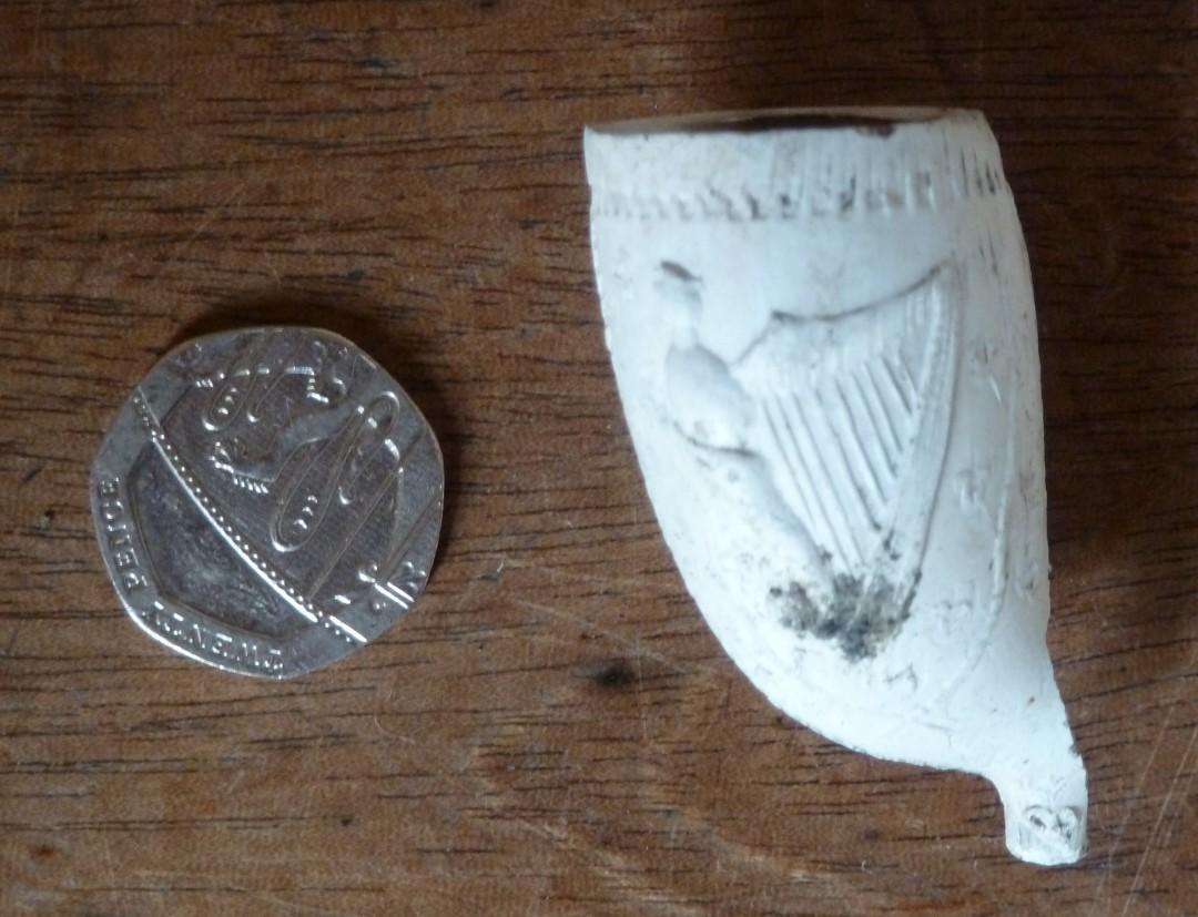 Irish Clay Pipe