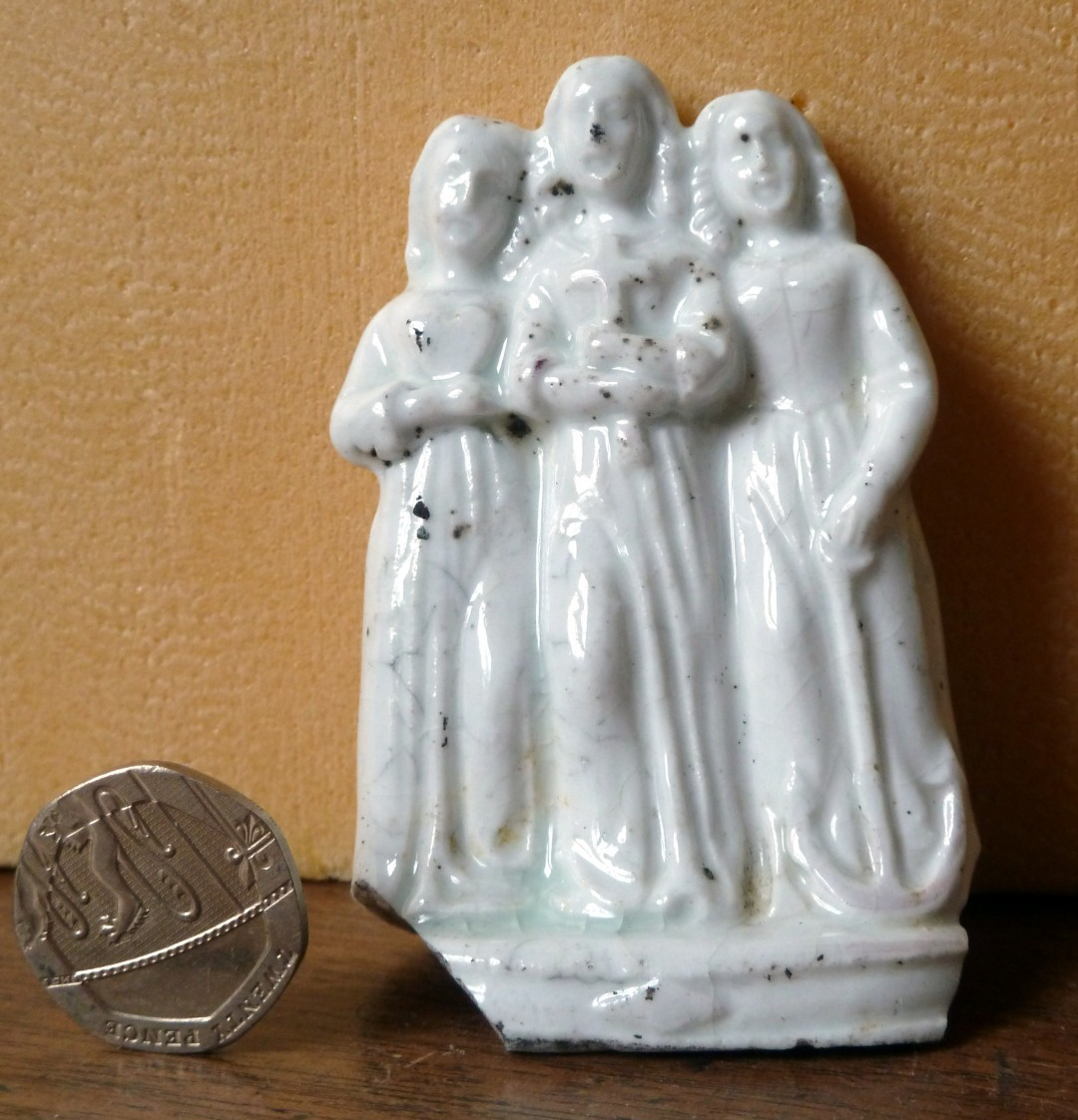 Faith, Hope and Charity Statuette
