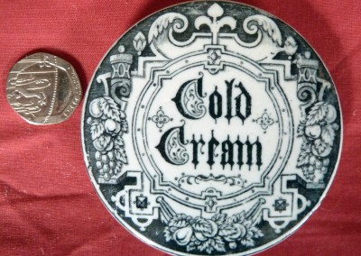 Cold Cream Pot Lid