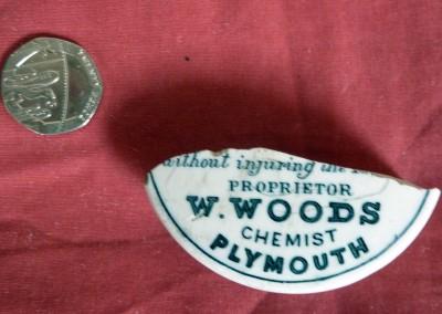 Woods Areca Nut Toothpaste Pot Lid