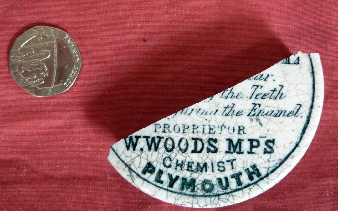 Woods Toothpaste Pot Lid