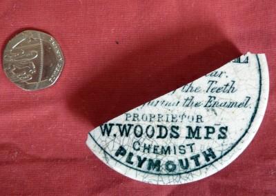 Woods Toothpaste Pot Lid
