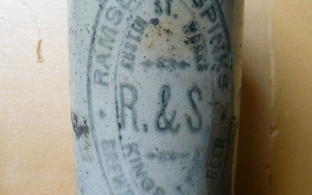 Ramsell & Spinks Ginger Beer Bottle