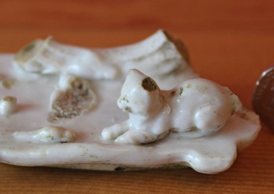 Cat and Mouse Trinket Box Lid