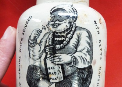 Batty's Nabob Pickle Jar
