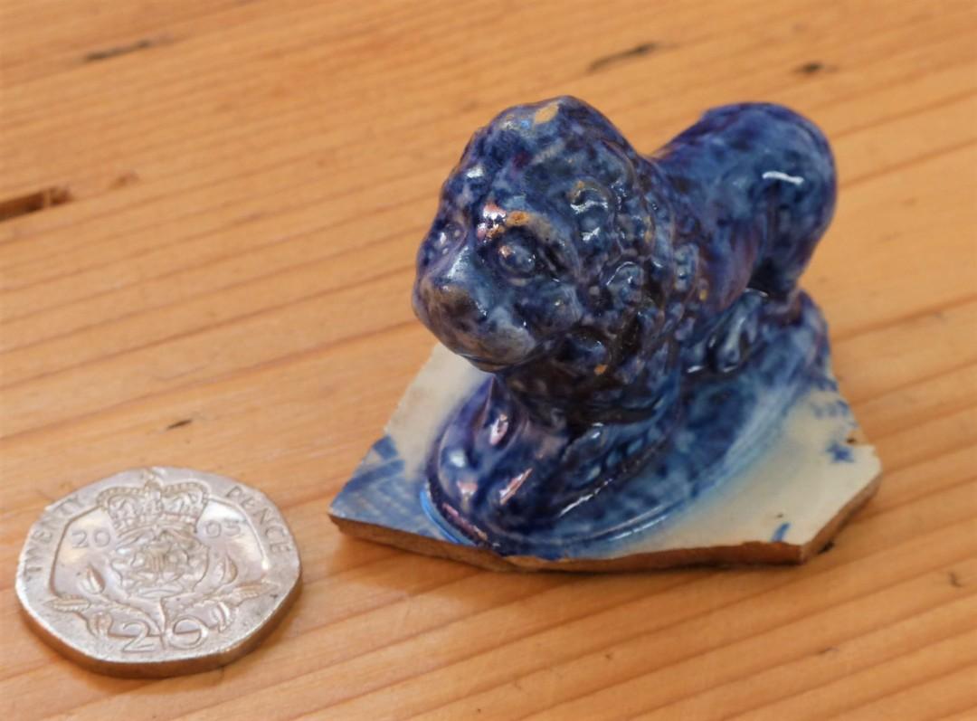 Lion tureen knob