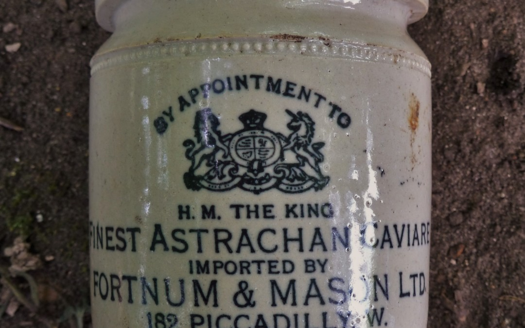 Fortnum & Mason's Caviare Pot