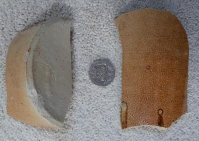Porter bottle (fragments)