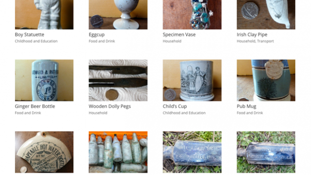 Items featured in the What The Victorians Threw Away database