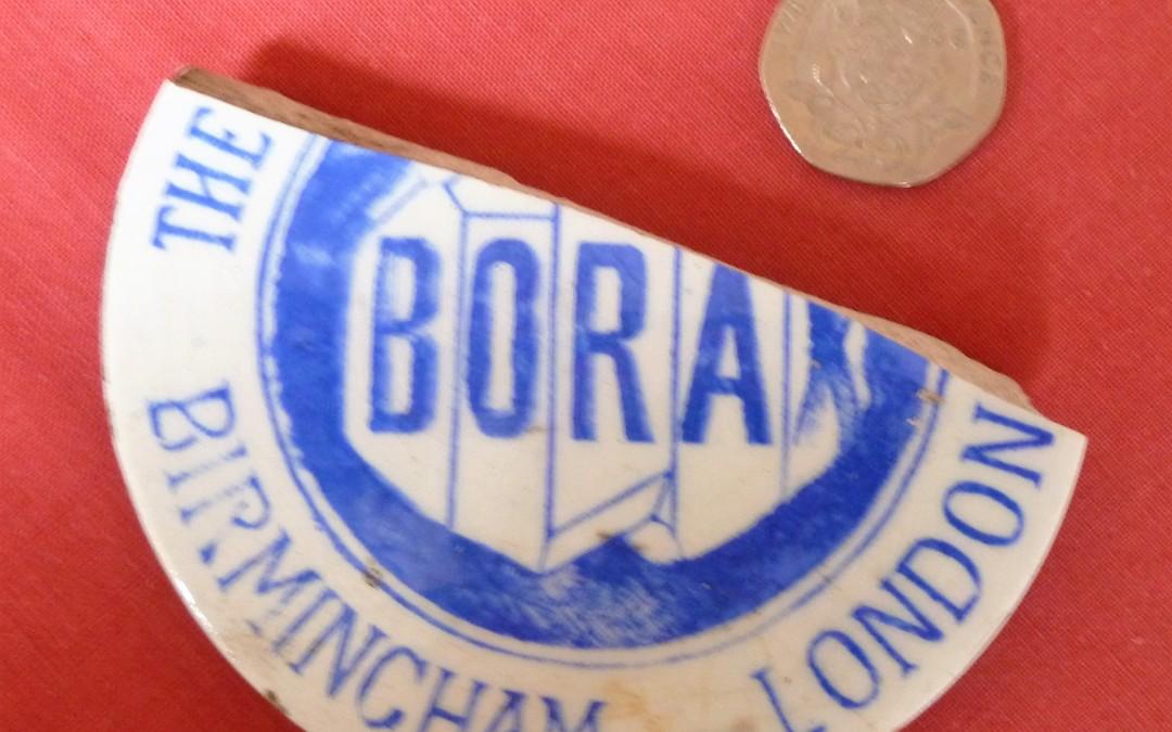 Borax pot lid