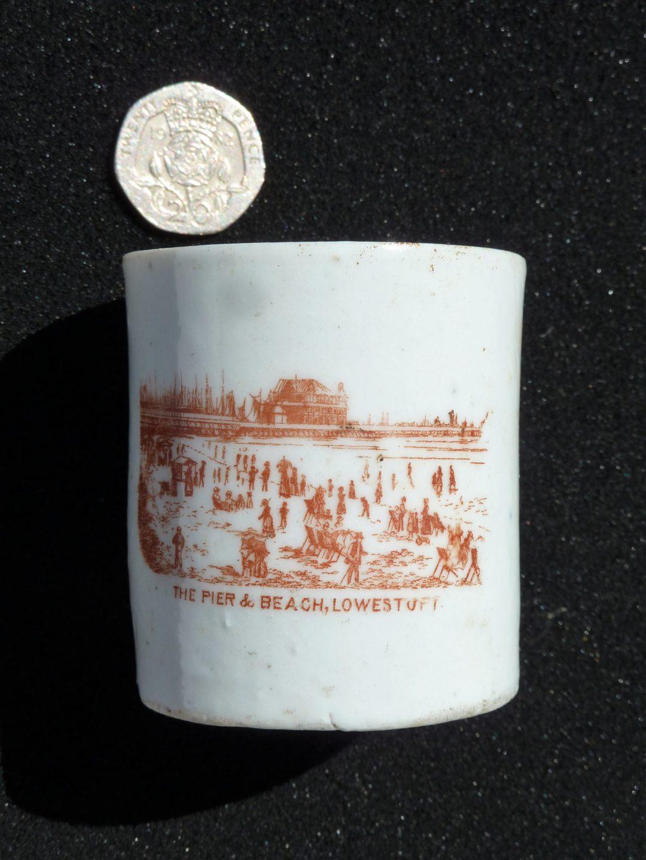 Souvenir cup, Lowestoft
