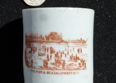 Souvenir cup, Lowestoft