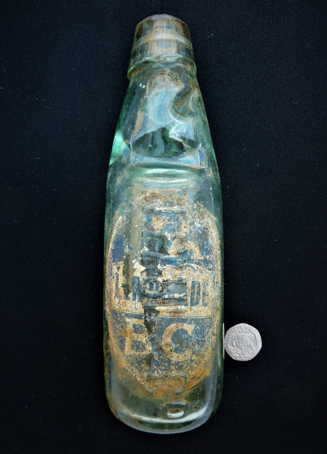 Nicholas Paul Codd bottle, re-used by YABC